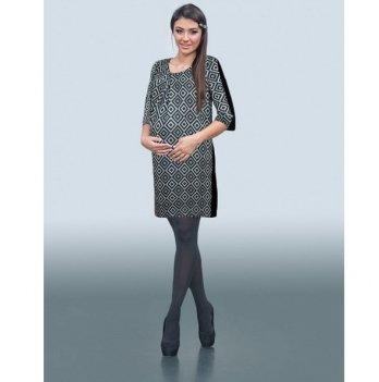 Платье для беременных Dianora Серые ромбы 1553 0757