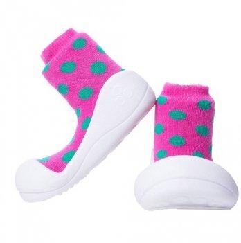 Обувь для первых шагов Polka Dot Attipas розовый