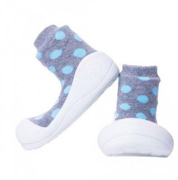 Обувь для первых шагов Polka Dot Attipas серый
