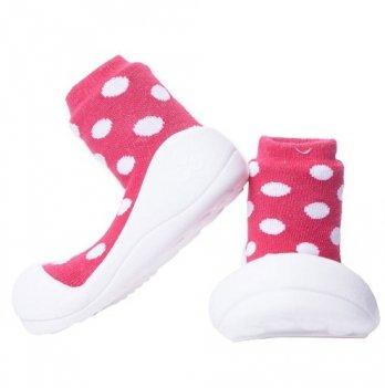 Обувь для первых шагов Polka Dot Attipas красный