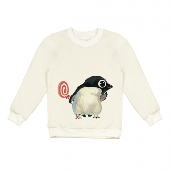 Свитшот Sauva Ge, Пингвин с Конфетой
