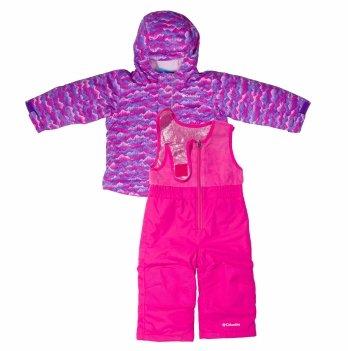 Зимний комплект для девочки Columbia Buga 1562212-667 2-4 года