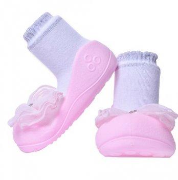 Обувь для первых шагов Crystal Attipas розовый