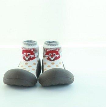 Обувь для первых шагов Zoo Attipas коричневый