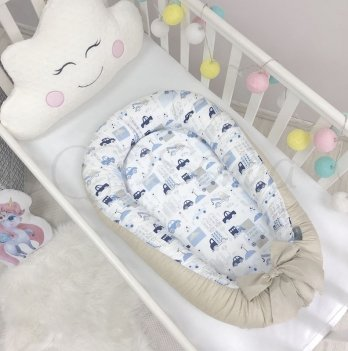Кокон Baby Design Premium City Маленькая Соня 5020108