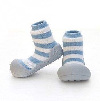 Обувь для первых шагов Natural Herb Attipas голубой