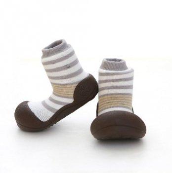 Обувь для первых шагов Natural Herb Attipas серый