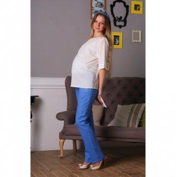 Брюки для беременных NowaTy Летняя лазурь Голубой