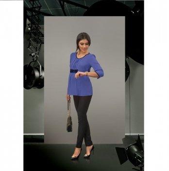 Блуза для беременных Dianora синяя 1603 0022