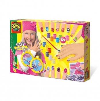 Игровой набор для нейл-арта Ses 014975S Модница