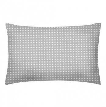 Детская наволочка бязь Cosas Dots Grey 60х40 см