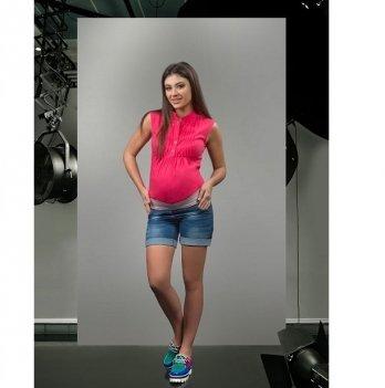 Шорты для беременных Dianora джинсовые синие 1626 0030