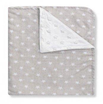 Полотенце-уголок Interbaby Star, серое