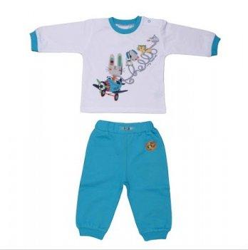Костюм кофта и брюки для мальчика BebePan, Тукан и его друзья