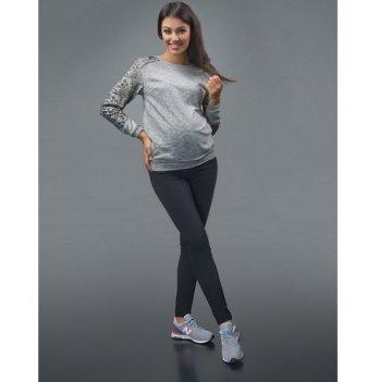 Лосины для беременных Dianora черные фактурные 1650 0603