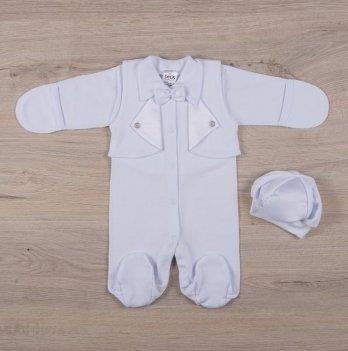Человечек для новорожденных Бетис Симпатяга Белый