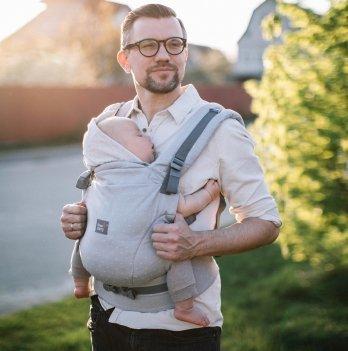 Эрго рюкзак Love & Carry ONE+ Organic Туман