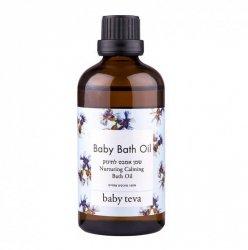 Baby Bath Oil Gentle Натуральное масло для купания детей Baby Teva Масло для добавления в ванночку