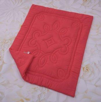 Детское демисезонное одеяло Бетис Краски Коралловый 27081374 110х140 см