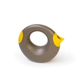 Лейка Quut CANA, 1 л, цвет светло-коричневый+желтый