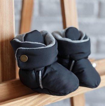 Пинетки-сапожки Magbaby черный