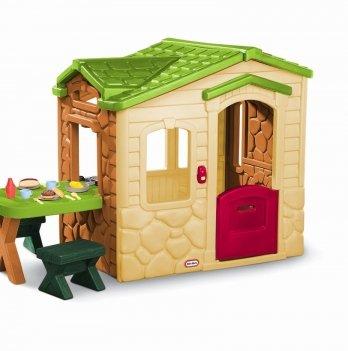 Игровой домик - ПИКНИК, Little Tikes, (с дверным звонком и аксессуарами)