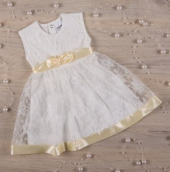 Платье Бетис Мечта кулир/гипюр Молочный 27075530