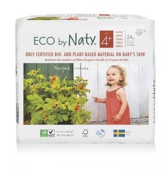 Подгузники Naty 178396 Размер 4+ (от 9 до 20 кг) 24 шт