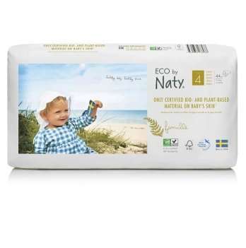 Подгузники Naty 178433 Размер 4 (от 7 до 18 кг) 44 шт