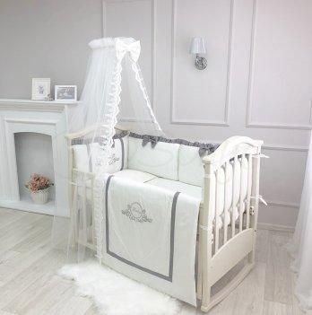 Комплект постельного белья Belissimo Маленькая Соня 015552 серый