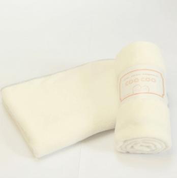 Легкое детское одеяло, COO COO, молочное, Соо62