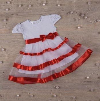 Платье Бетис Маленькая Леди кулир Красный 27070306 1,5-3 года