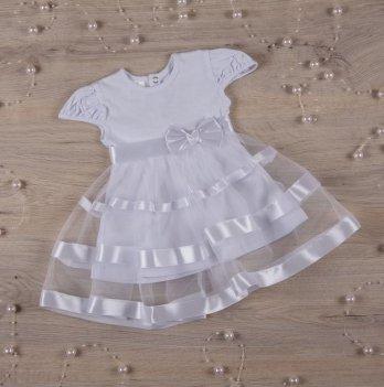 Платье Бетис Маленькая Леди кулир Белый 27073201 2-3 года