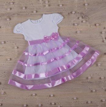 Платье Бетис Маленькая Леди кулир Лиловый 27072162 1,5-3 года