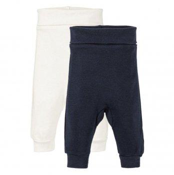 Ползуны для малышей Lupilu белый/темно-синий 2 шт