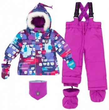 Зимний костюм (куртка и полукомбинезон) Deux par Deux Aop Seal 004