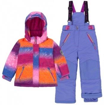 Зимний термокомплект для девочки Deux par Deux E 803-577-Amparo Blue
