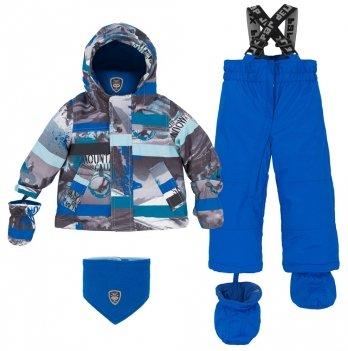 Зимний костюм (куртка и полукомбинезон) Deux par Deux Princess Blue 469