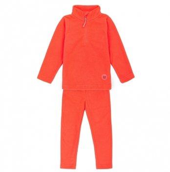 Флисовый костюм (кофта и штаны) Deux par Deux Winter Fiercy Coral 894