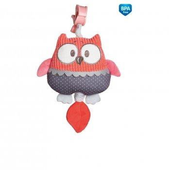 Музыкальная игрушка в коляску и кроватку Canpol babies Pastel Friends Коралловый 68/069