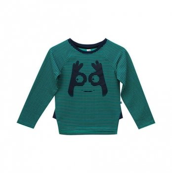 Джемпер для мальчика Minikin Сине-зеленый 177807