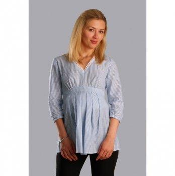 Блуза для беременных NowaTy Светлая мечта Голубой