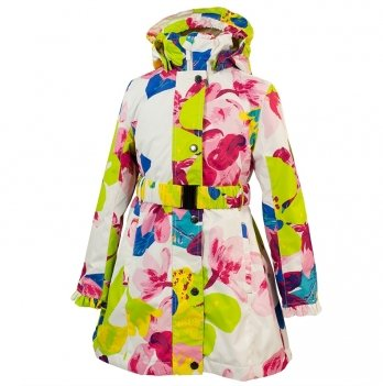 Пальто демисезонное для девочки Huppa, LEANDRA 18030004-81320
