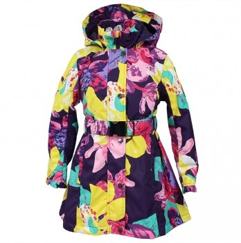 Пальто демисезонное для девочки Huppa, LEANDRA 18030004-81373