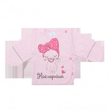 Распашонка, Minikin, 18140, розовый горошек