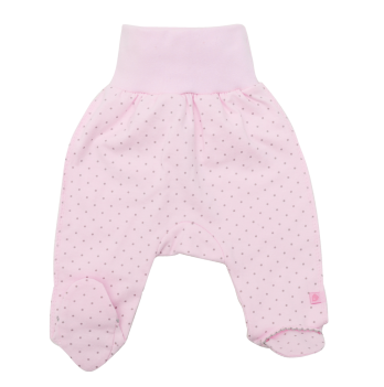 Ползунки, Minikin, 18142, розовый горошек
