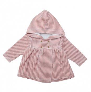 Куртка велюровая Minikin для девочки 1817104 розовая