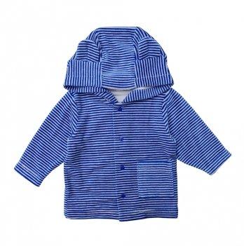 Куртка велюровая Minikin для мальчика 1817304 синяя
