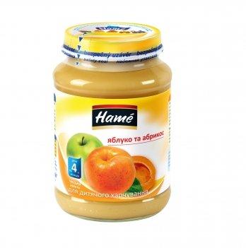 Пюре фруктовое Hame яблоко и абрикос 190 г