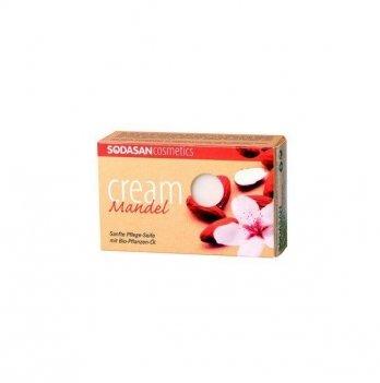 Органическое мыло-крем Sodasan Almond, 100 г